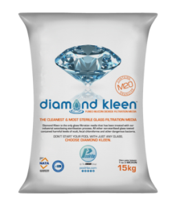 Diamond kleen m20 coarse grade glass filtration media 15kg - Glass filter media for swimming pools ...